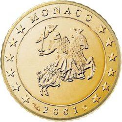 10 евроцентов, Монако (тип 1)