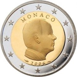2 евро Монако (тип 2), аверс