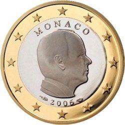 1 евро Монако (тип 2), аверс