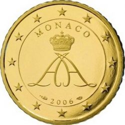 50 евроцентов Монако (тип 2), аверс