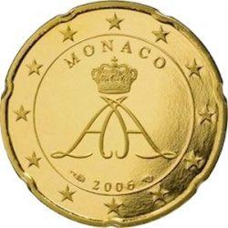 10 евроцентов Монако (тип 2), аверс