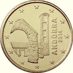 50 евроцентов Андорры, аверс