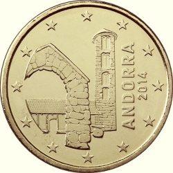 10 евроцентов Андорры, аверс