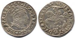Грош Сигизмунда II Августа 1546 года. 2,28 г серебра.