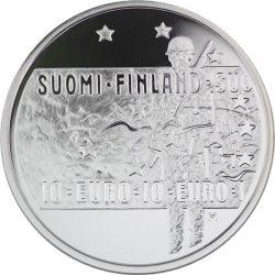10 евро, Финляндия (Неизвестный солдат и финское кино)