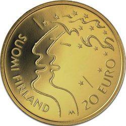20 евро, Финляндия (10-й Чемпионат мира по лёгкой атлетике)