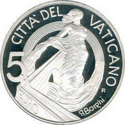5 евро, Ватикан (Мир и браство)