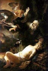 Жертвоприношение Авраама (Рембрандт, 1635 г., Эрмитаж)
