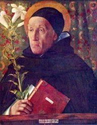 Святой Доминик (Дж. Беллини, ок. 1500 г., национальная галерея в Лондоне)