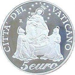 5 евро, Ватикан (Год чёток)