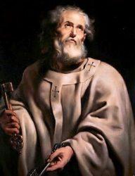 Апостол Пётр (картина Рубенса, 16 в.)