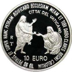 10 евро, Ватикан (25 лет понтификата Иоанна Павла II)