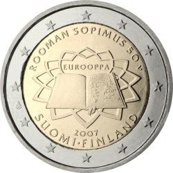 2 евро, Финляндия (Римский договор)