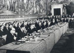 Подписание Римского договора, 25 марта 1957 г.