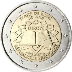 2 евро, Франция (50-летие подписания Римского договора)