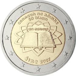 2 евро, Ирландия (Римский договор)