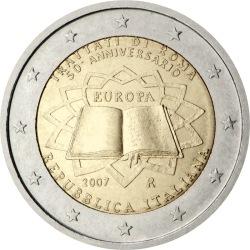 2 евро, Италия (Римский договор)
