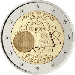 2 евро, Люксембург (50-летие подписания Римского договора)