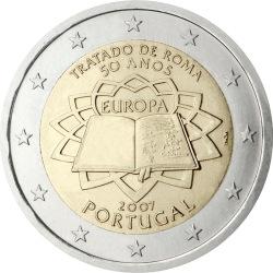 2 евро, Португалия (50-летие подписания Римского договора)