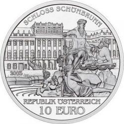 10 евро, Австрия (Дворец Шёнбрунн)