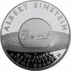 10 евро, Германия (100 лет теории относительности)