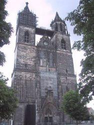 Западный фасад Магдебургского собора