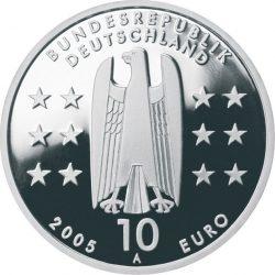 10 евро, Германия (1200 лет Магдебургу)