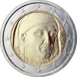 2 евро, Италия (700 лет со дня рождения Джованни Боккаччо)