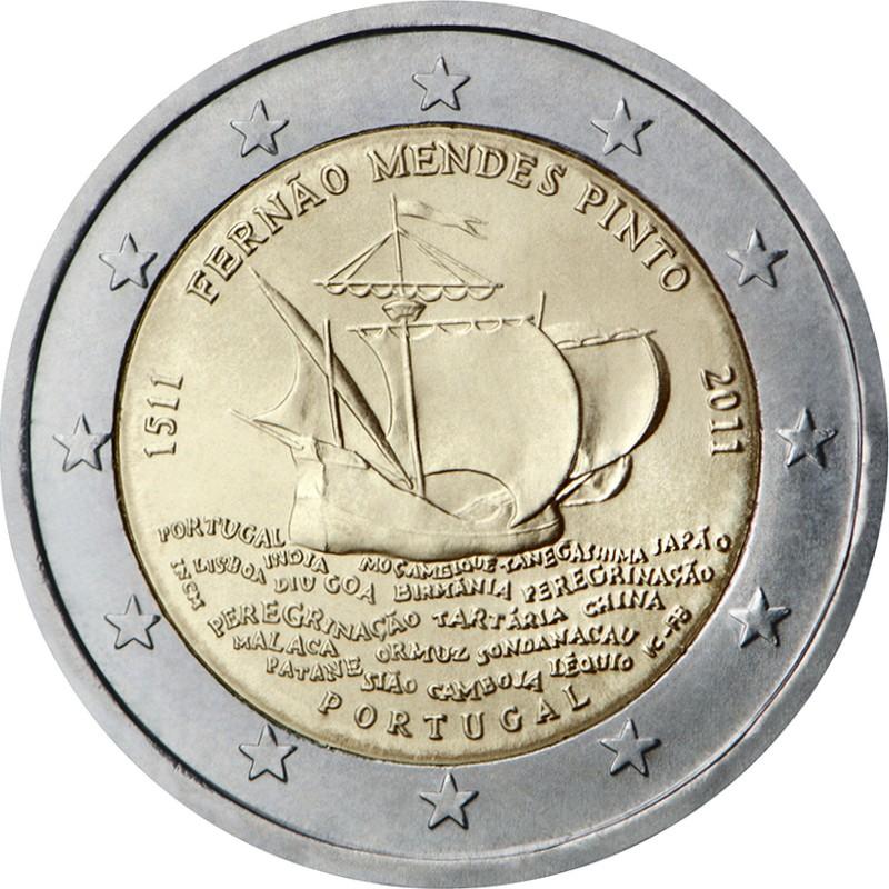 Купить монеты 2 евро португалия регулярная коллекционные банки жигули барное