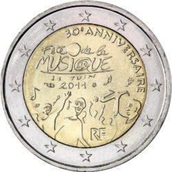2 евро, Франция (30 лет фестивалю музыки)