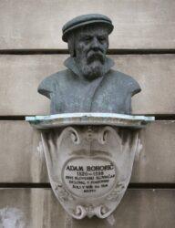 Monument for Adam Bohorič