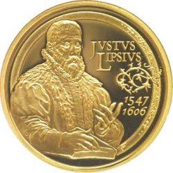 50 евро, Бельгия (400 лет со смерти Юста Липсия)