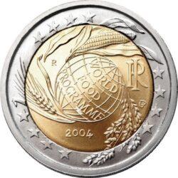 2 евро, Италия (Всемирная продовольственная программа)