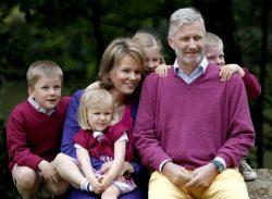Принц Филипп с семьёй (2011 г.)