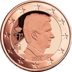 2 евроцента Бельгии (тип 4)