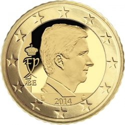 10 евроцентов Бельгии (тип 4)