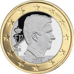 1 евро Бельгии (тип 4)