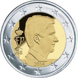 2 евро Бельгии (тип 4)