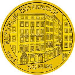 50 евро, Австрия (Вольфганг Амадей Моцарт)