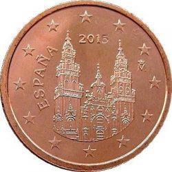 5 евроцентов, Испания (тип 3)
