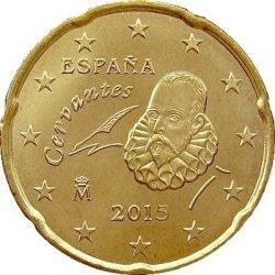 20 евроцентов, Испания (тип 3)