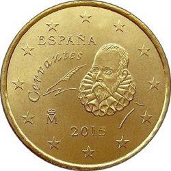 50 евроцентов, Испания (тип 3)