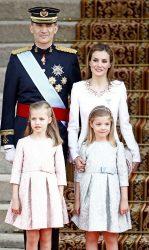 Филипп VI с семьёй