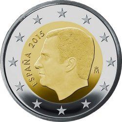 2 евро, Испания (тип 3)