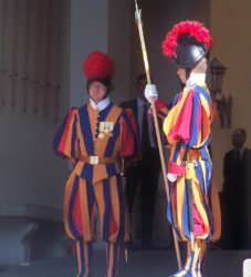 Swiss Guards in the Vatican City