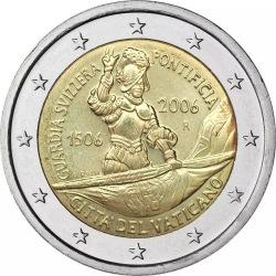 2 евро, Ватикан (500 лет швейцарской гвардии)