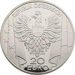 20 евро, Австрия (Послевоенное время)