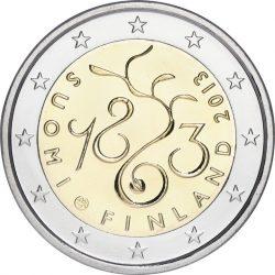 2 евро, Финляндия (150-летие проведения сейма 1863 года)