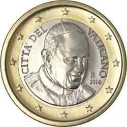 1 евро, Ватикан (тип 4)