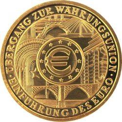 100 евро, Германия (Введение евро)